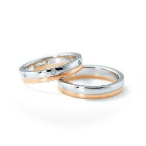 【ペアリング2本1組ダイヤあり*ダイヤなし】 NINA RICCI ニナリッチ ウェディングリング ETERNITE 6RM904/6RL917 P 結婚指輪(マリッジリング) 【送料無料】
