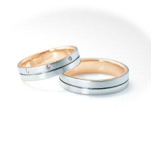 【ペアリング2本1組ダイヤあり*ダイヤなし】 NINA RICCI ニナリッチ ウェディングリング ETERNITE 6RMP01/6RL921 P 結婚指輪(マリッジリング) 【送料無料】