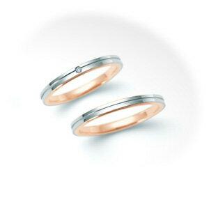 【ペアリング2本1組ダイヤあり*ダイヤなし】 NINA RICCI ニナリッチ ウェディングリング ETERNITE 6R1F05/6R1F06 P 結婚指輪(マリッジリング) 【送料無料】