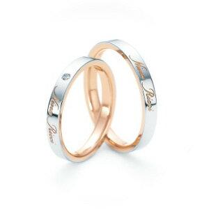 【ペアリング2本1組ダイヤあり*ダイヤなし】 NINA RICCI ニナリッチ ウェディングリング GRACIEUX 6R1J07/6R1J08 P 結婚指輪(マリッジリング) 【送料無料】