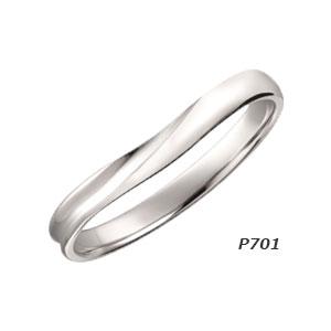 【ダイヤなし単品】 True Love Pt900 P701 結婚指輪(マリッジリング) PILOT(パイロットコーポレーション) トゥルーラブ 【送料無料】