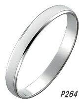 【単品】 True Love Pt900 P264 結婚指輪(マリッジリング) PILOT(パイロットコーポレーション) トゥルーラブ 【送料無料】