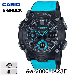 【国内正規品・新品・在庫有り】CASIO(カシオ) G-SHOCK(ジーショック) GA-2000-1A2JF メンズ腕時計