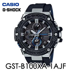 【送料無料】【メーカー保証付】CASIO(カシオ) G-SHOCK(ジーショック) GST-B100XA-1AJF メンズ腕時計