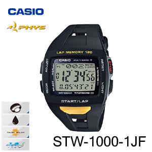 【国内正規品・新品・在庫有り】CASIO(カシオ) PHYS(フィズ) STW-1000-1JF メンズ腕時計