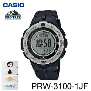 【送料無料】【メーカー1年保証付】CASIO(カシオ) PROTREK(プロトレック) PRW-3100-1JF メンズ腕時計