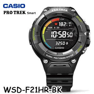 【国内正規品・新品・在庫有り】CASIO(カシオ) PRO TREK Smart(プロトレック スマート) WSD-F21HR-BK メンズ腕時計