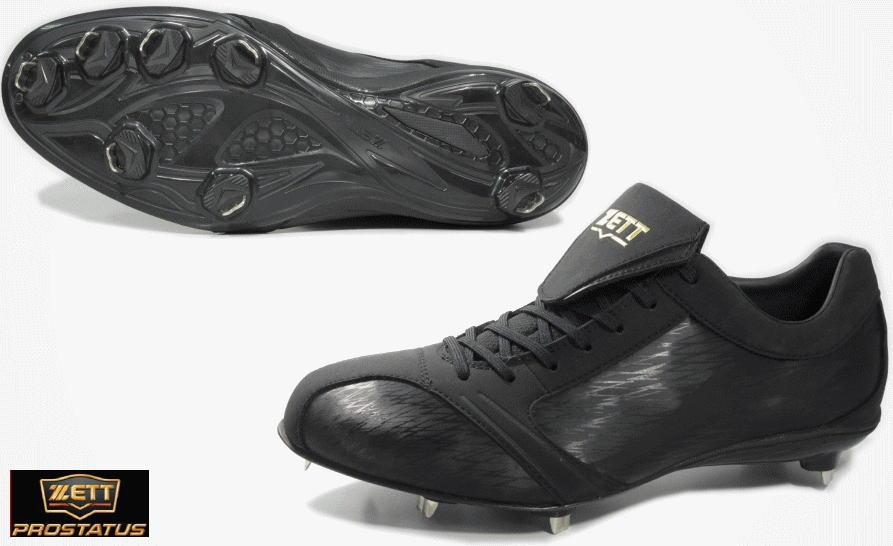 ゼット ZETT 野球 スパイク BSR2786LB 折りベロ仕様 埋込み金具 スーパーグランドジャックLB 限定品