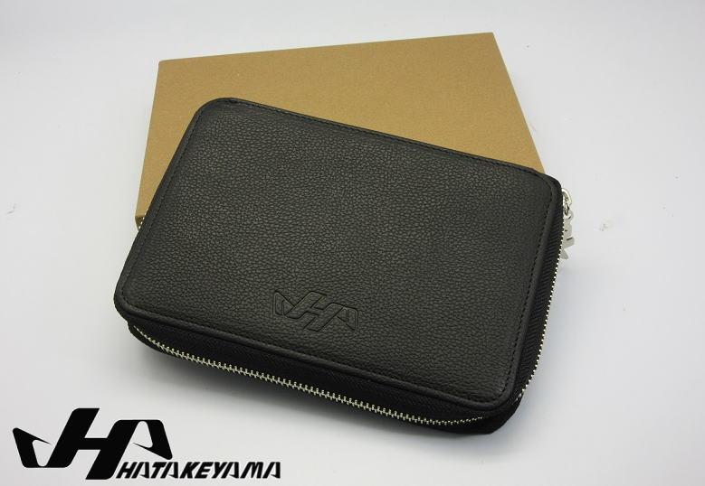 ハタケヤマ HATAKEYAMA スコアブック&手帳 SB-10 本革 送料無料 プロのコーチが多数愛用 ファスナー付き