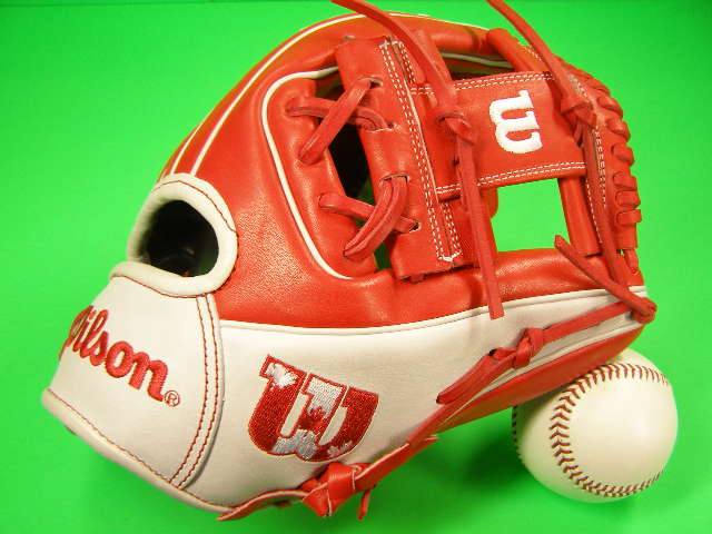 限定 送料無料 海外グラブマニア必見 ウィルソン 買収 WILSON Wilson 専門店 海外モデル 硬式用 内野用 カナダ 2021 Infield 1786 A2000 - Edition Limited Glove Canada 11.5