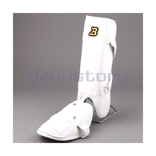 フットガードならベルガード プロ選手使用レベルです ベルガード BELGARD プロ仕様 合皮巻きタイプ フットガード 毎日がバーゲンセール 高校野球対応カラー レッグ ホワイト Bマーク選択可能 ロングタイプ FG910 安売り ガード