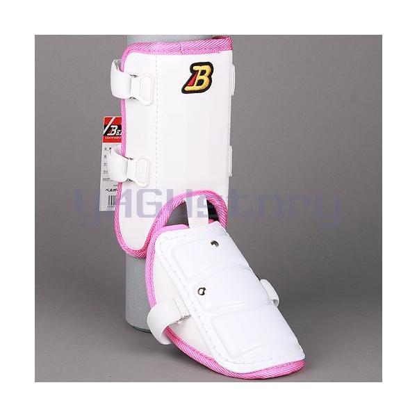 フットガードならベルガード プロ選手使用レベルです ベルガード BELGARD プロ仕様合皮巻きタイプ フットガード 人気海外一番 FG902 レッグ ホワイト ショートタイプ ピンク ガード 休日