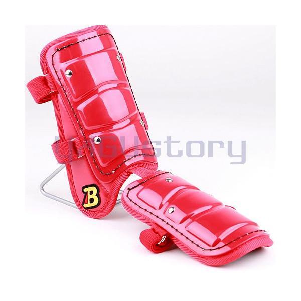 フットガードならベルガード プロ選手使用レベルです ベルガード スーパーセール期間限定 メーカー直売 BELGARD フットガード 左右打者兼用 Bマーク選択可能 レッド ショートタイプ ガード FG800 レッグ