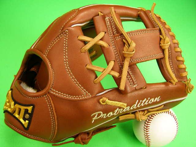 型付け無料 海外メーカー BMC ビーエムシー 内野用 ブラウン Hクロスウェブ 硬式野球対応 Baseball embers Club