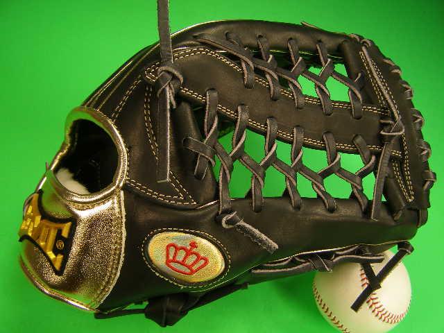 型付け無料 海外メーカー BMC ビーエムシー 硬式用 外野用 ブラック×ゴールド 12.75インチ Baseball Members Club 硬式 ソフト 軟式M号