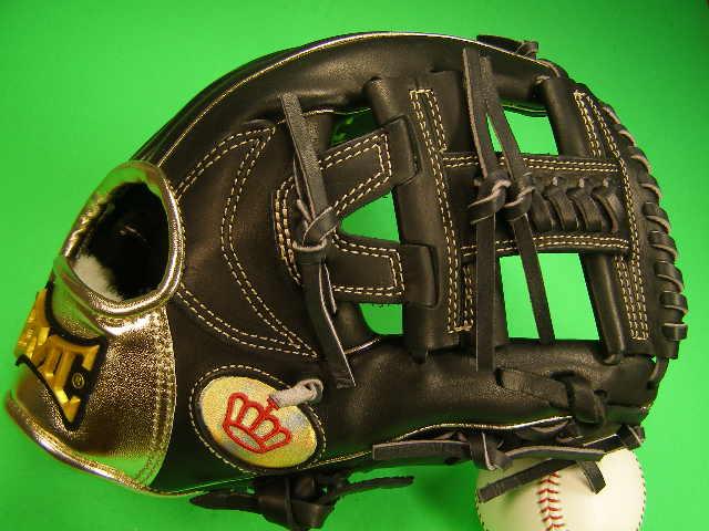 型付け無料 海外メーカー BMC ビーエムシー 硬式用 内野用 ブラック×ゴールド 11.25インチ Baseball Members Club 硬式 ソフト 軟式M号