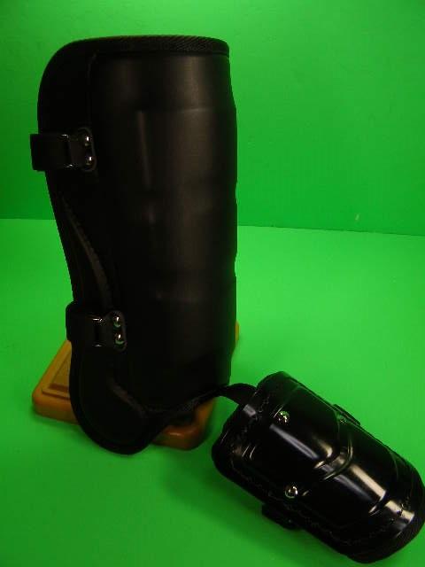 フットガードならベルガード プロ選手使用レベルです ベルガード 本日の目玉 BELGARD プロモデル ロング 学生野球対応 FG950 甲あり 高校野球 フットガード ロングタイプ 合皮巻きタイプ 黒 ブラック 安全