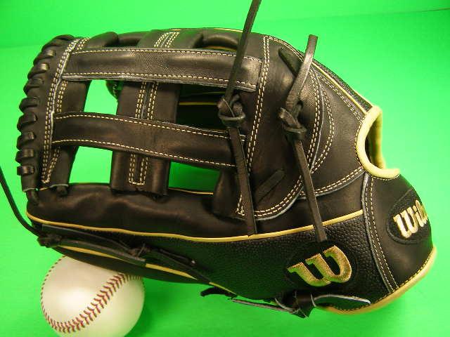 送料無料 WILSON ウィルソン Wilson 海外モデル 硬式用 左投げ用 外野用 Wilson A2000 1799 SS SuperSkin Outfield Baseball Glove - 12.75