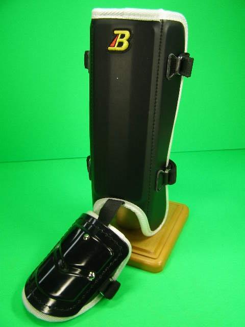 フットガードならベルガード プロ選手使用レベルです 至高 ベルガード BELGARD FG912 フットガード ブラック×ホワイト プロ仕様合皮巻きタイプ 新商品 ロングタイプ レッグガード