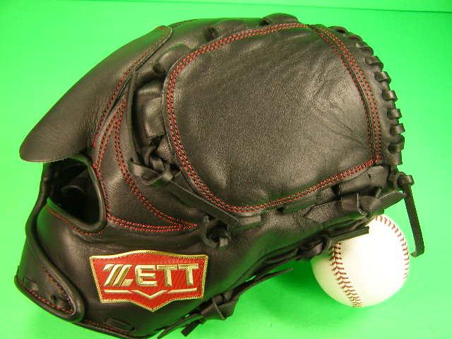 送料無料 型付け無料 ゼット ZETT 投手用 ブラック 硬式野球用 学生野球対応カラー ピッチャー グローブ 硬式 ソフト