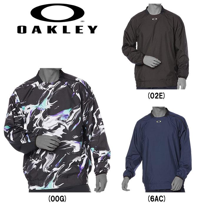 トレーニングに最適 あす楽 oakley オークリー Vジャン ピステ 長袖 大好評です ウィンドジャケット ふるさと割 トレーニング 1.7 BB CREW ENHANCE 202109-new oak21fw WIND FOA402896