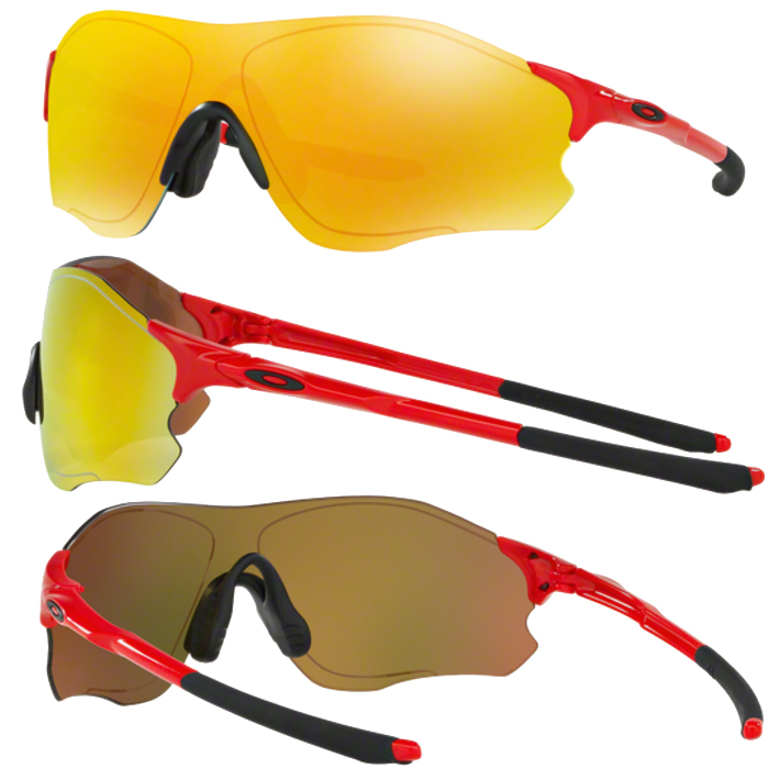 あす楽 OAKLEY オークリー サングラス EVZERO PATH (ASIA FIT) FIRE IRIDIUM OO9313-09
