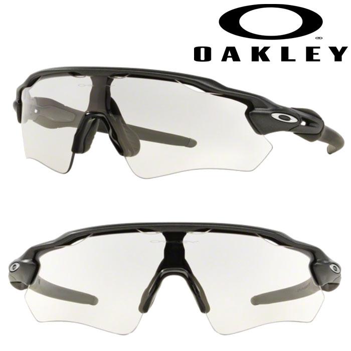 あす楽 OAKLEY オークリー サングラス 調光レンズ RADAR EV PATH Steel Photochromic USサイズ OO9208-13 oak18fw