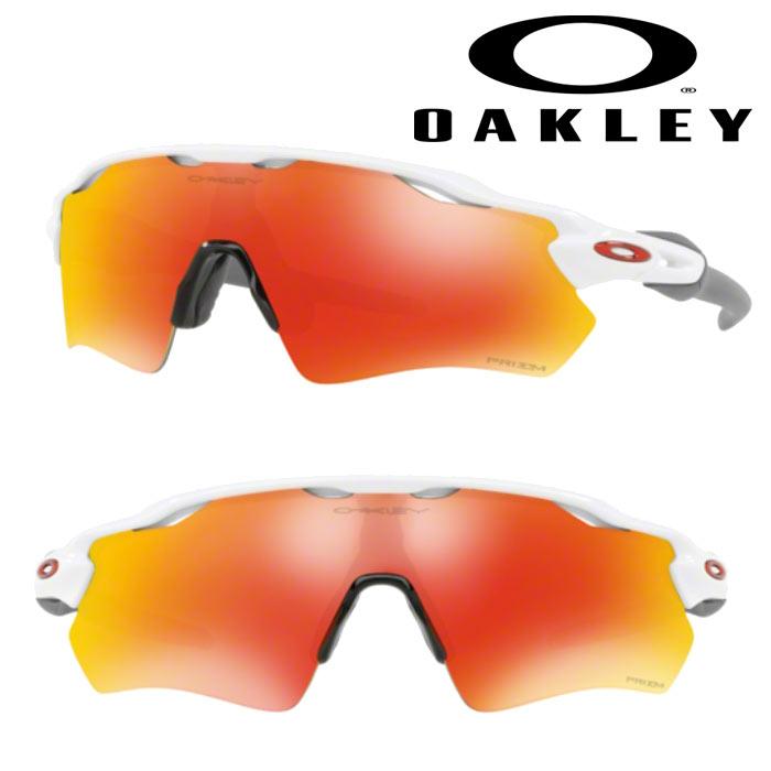 あす楽 OAKLEY オークリー サングラス RADAR EV PATH(USサイズ) PRIZM RUBY POLISHED WHITE OO9208-7238 oak18fw