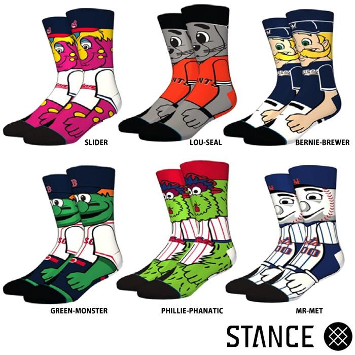 STANCEスタンス野球ソックス靴下MLB公認メジャー球団キャラM545A18