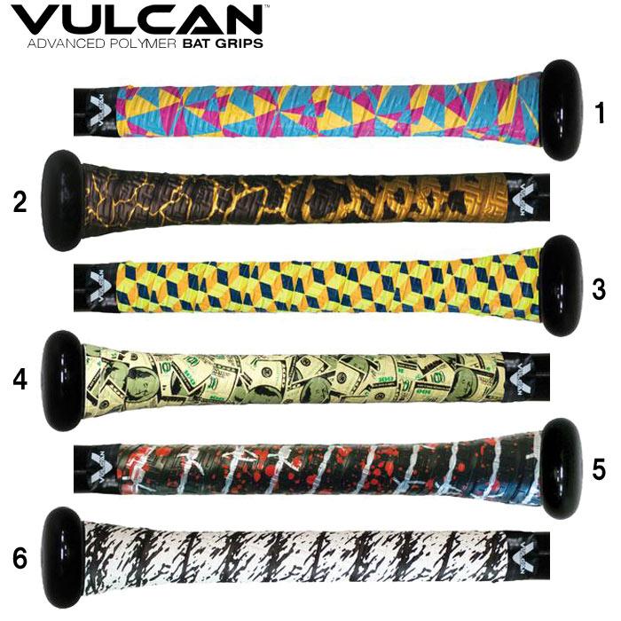 衝撃のデザインと確かなグリップ力 人気 おすすめ バルカン VULCAN バット グリップテープ 正規輸入品 UNCOMMONシリーズ ブランド品 VULCAN-UNCOMMON