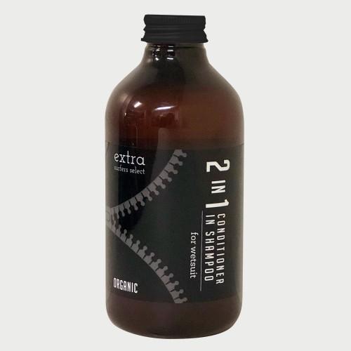 送料無料 信託 Seasonal Wrap入荷 ソフナー入りシャンプー 2in1 extra Wet Suits Conditioner Shampoo Organic in サーフィン ウエットシャンプー ウェットスーツ