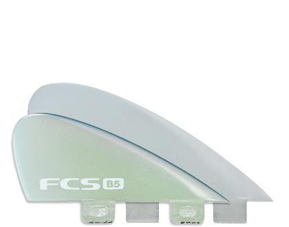 FCS B5 BONZER PG CLEAR QUAD 4FIN PERFORMANCE GLASS 4FIN SET FCS フィン 送料無料
