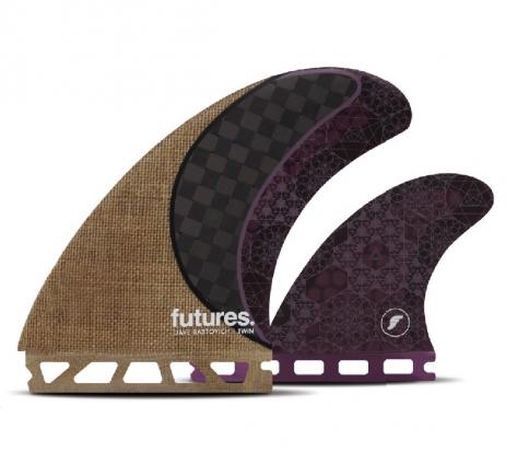 フューチャー フィン FUTURES Dave Rastovich RASTA 2+1 JUTE サーフィン ツインスタビライザー フィン セット