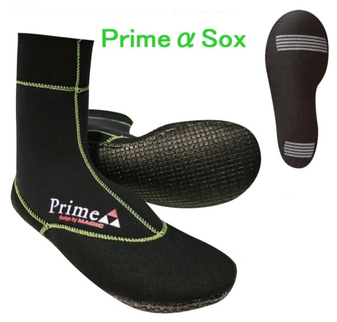 2019 MAGIC Prime α Sox 3.5mm マジック プライム α ソックス 冬用サーフブーツ 送料無料
