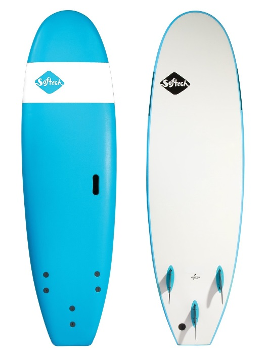 SOFTECH サーフボード 6'6 BLUE HAND SHAPED SOFTBOARD  【2019 ソフテック】 SURFBOARDS ソフトボード 送料無料