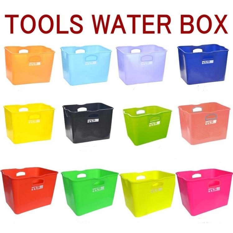 TOOLS 激安卸販売新品 ウォーターボックス 海外並行輸入正規品 サーフィン バケツ WATER 四角いバケツ BOX ウォーター TLS