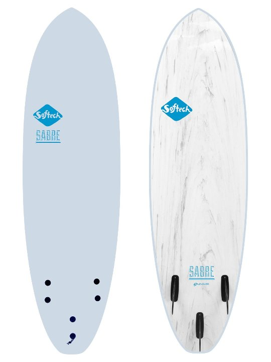SOFTECH 5'6 THE SABRE ICE BLUE SOFTBOARD 【2020 ソフテック】 サーフボード SURFBOARD ソフトボード 送料無料