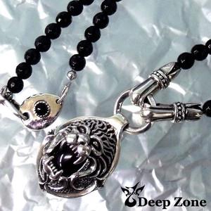 [Deep Zone] オニキスネックレス & SILVER925ペンダント