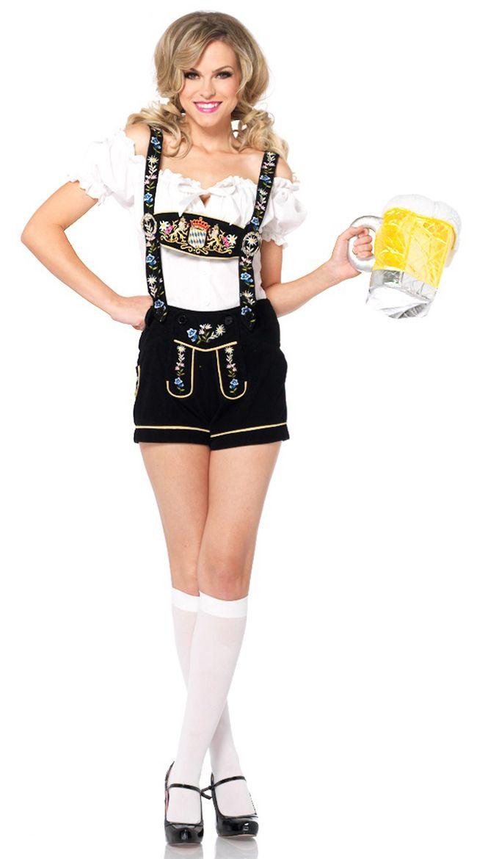 セクシーレーダーホーゼンコスチューム 2点セット 仮装コスチューム コスプレ /LEG AVENUEレッグアベニュー コスプレ・仮装・ハロウィン・女性大人用