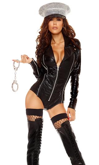 セクシー モーターライダー ボディスーツ コスチューム コスプレ衣装 (二次会、結婚式、仮装、パーティー、宴会、ハロウィン)大人女性用