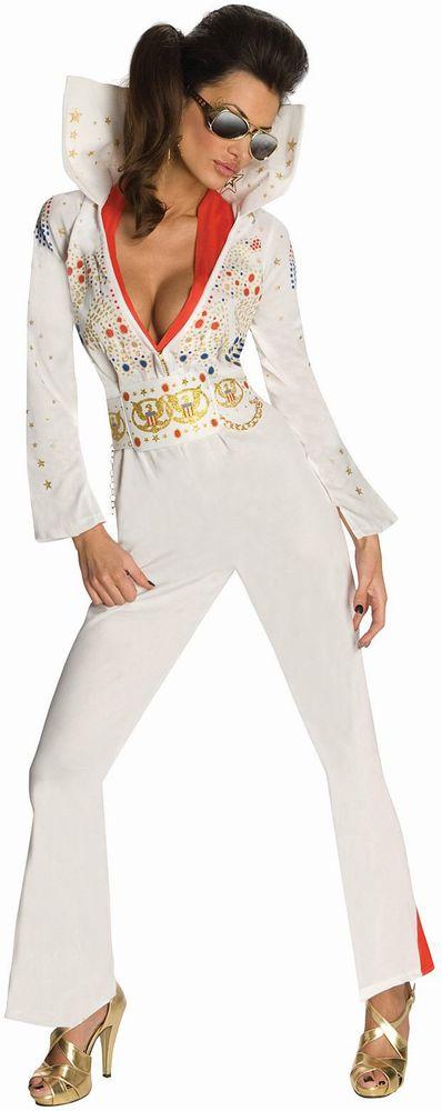 エルビスプレスリー コスチューム コスプレ衣装 (二次会、結婚式、仮装、パーティー、宴会、ハロウィン) 女性 大人用