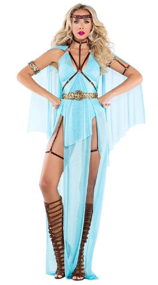 戦争の女神のコスチューム3点セット コスプレ衣装 (二次会、結婚式、仮装 女性、パーティー 大人用、宴会、舞台、演劇、ハロウィン) 女性 大人用, マキノ町:486796a2 --- officewill.xsrv.jp