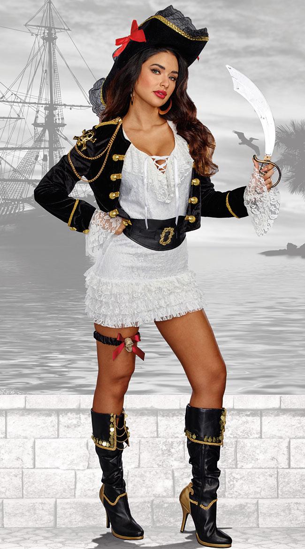 レディース ホーリーシップ!コスチューム 3点セット 女性用 コスプレ衣装 (二次会、仮装、パーティー、ハロウィン)大人女性用
