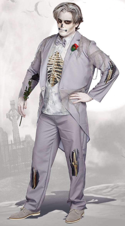 メンズ ガット コールド フィート コスチューム 2点セット 男性用 コスプレ衣装 (二次会、仮装、パーティー、ハロウィン)大人男性用