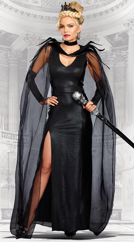 ザ クイーンオブミーン コスチューム 3点セット 女性用 コスプレ衣装 (二次会、仮装、パーティー、ハロウィン)大人女性用