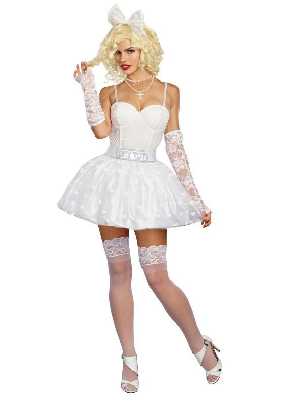 ボーイトイ レディースコスチューム 5点セット 女性用 コスプレ衣装 (二次会、仮装、パーティー、ハロウィン)大人女性用