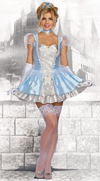 ハブ ア ボール レディースコスチューム 3点セット 女性用 コスプレ衣装 (二次会、仮装、パーティー、ハロウィン)大人女性用