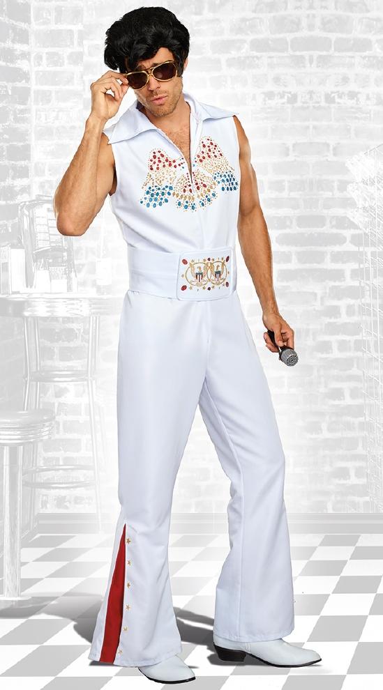 ロックレジェンド メンズ 用コスチューム 2点セット コスプレ衣装  (二次会、結婚式、仮装、パーティー、宴会、ハロウィン)大人 男性