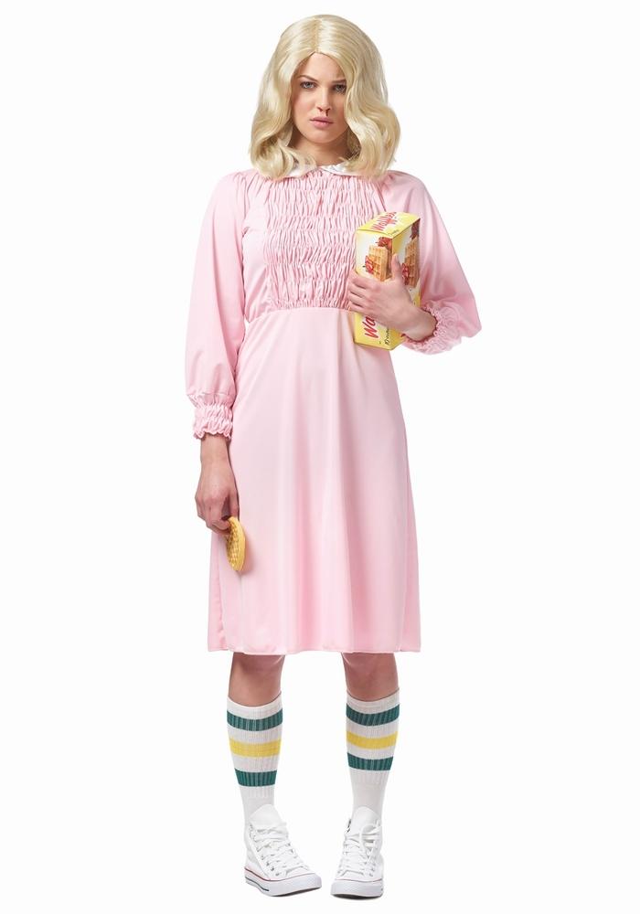 ストレンジガール レディースコスチューム 2点セット ハロウィンコスチューム  女性用 コスプレ衣装 (二次会、仮装、パーティー、ハロウィン)大人女性用
