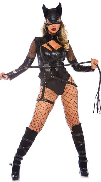 ヴィラニス ビクセン レディースコスチューム 3点セット LEG AVENUEレッグアベニューコスプレ衣装 かわいい 仮装・ハロウィン・パーティー 大人女性